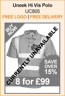 Uneek Hi Vis Polo