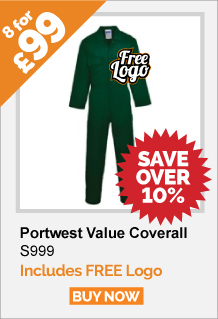 8 Portwest Coverall