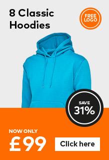 8 Classic hoodies