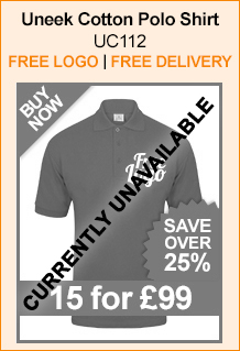 Uneek 100% Cotton Polo